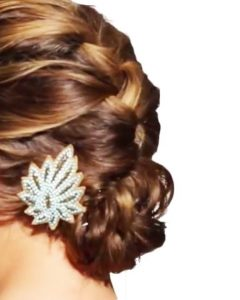 Updo Hairstyles With French Braid