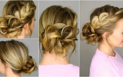 Messy Bun Braided Hairstyles