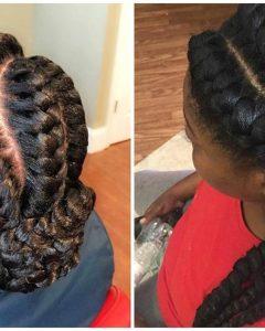 Goddess Braid Hairstyles