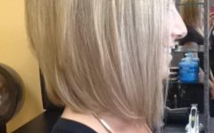 Medium Length Angled Bob Hairstyles