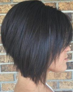 Graduated Inverted Bob Hairstyles With Fringe