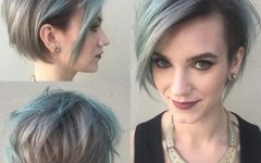 Short Shaggy Gray Hairstyles