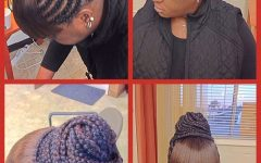 Cornrows Hairstyles with Bangs