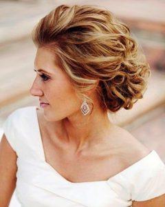 Loose Wedding Updos For Short Hair