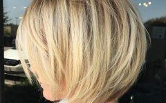Sassy Angled Blonde Bob Hairstyles
