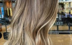 Cool Dirty Blonde Balayage Hairstyles