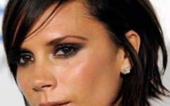 Victoria Beckham Medium Hairstyles