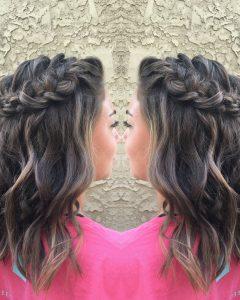 Homecoming Medium Hairstyles