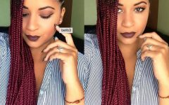 Side Swept Yarn Twists Hairstyles