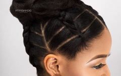 Black Updo Hairstyles for Long Hair