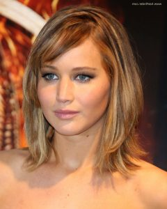 Jennifer Lawrence Medium Hairstyles
