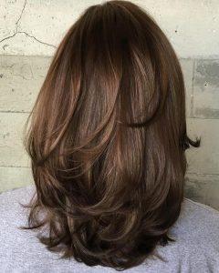 Long Thick Haircuts with Medium Layers