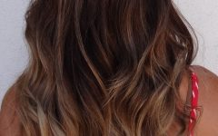 Black to Light Brown Ombre Waves Hairstyles