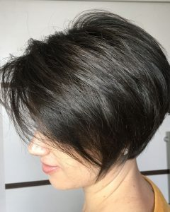 Angled Pixie Bob Hairstyles With Layers