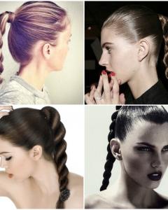 High Rope Braid Hairstyles