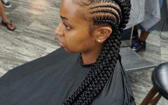 Big Cornrows Hairstyles