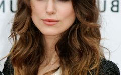 Long Wavy Hairstyles with Side-swept Bangs