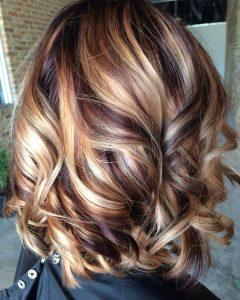 Light Chocolate And Vanilla Blonde Hairstyles