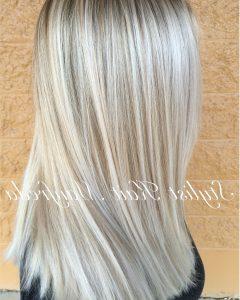 Platinum Highlights Blonde Hairstyles