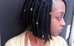 Box Braids and Beads Hairstyles