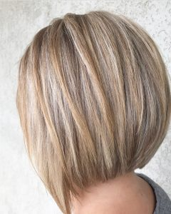 Short A-line Haircuts for Long Faces