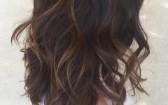 Chopped Chocolate Brown Hairstyles for Long Hair