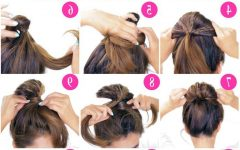 Bubble Pony Updo Hairstyles