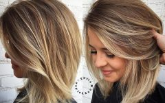 Medium-to-long Hairstyles with Chunky Pieces