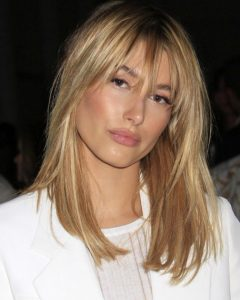 Wispy Layered Blonde Haircuts With Bangs