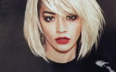 Rita Ora Medium Hairstyles