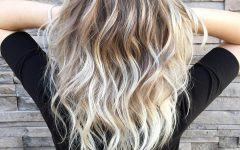 Dark Blonde into White Hairstyles