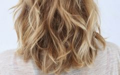Medium Layered Wavy Haircuts