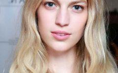 Soft Flaxen Blonde Curls Hairstyles