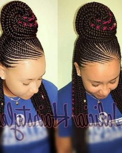 Carrot Cornrows Hairstyles
