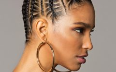 Cornrows Bun Hairstyles