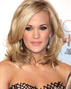 Carrie Underwood Medium Hairstyles
