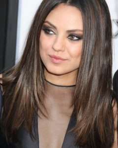 Mila Kunis Medium Hairstyles