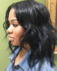 Black Women With Medium Hairstyles