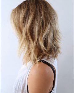 Textured Medium Haircuts