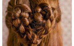 Heart Braids Hairstyles