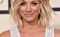 Kaley Cuoco New Medium Haircuts