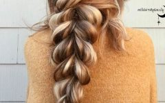 Loose Double Braids Hairstyles