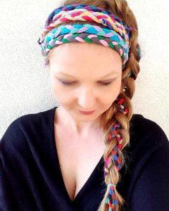 Hippie Braid Headband Hairstyles