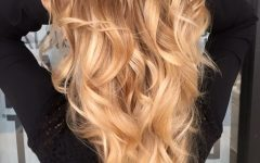 Golden Blonde Balayage Hairstyles