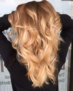 Golden Blonde Balayage Hairstyles