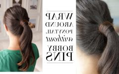 Wrapped-up Ponytail Hairstyles