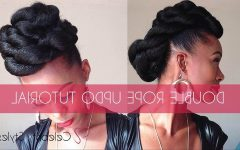 Jumbo Double-twisted Updo