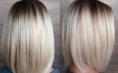 Rooty Long Bob Blonde Hairstyles