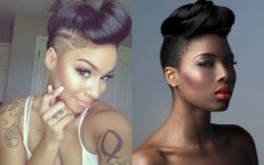 Shaved Side Prom Hairstyles