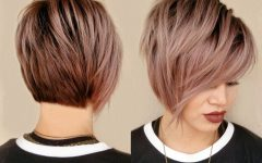 Rose Gold Pixie Hairstyles
